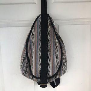 Mexican Blanket Hobo bag / backpack